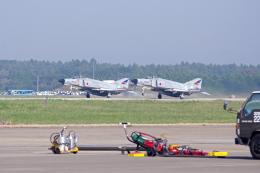 AWACSさんが、茨城空港で撮影した航空自衛隊 F-4EJ Kai Phantom IIの航空フォト(飛行機 写真・画像)