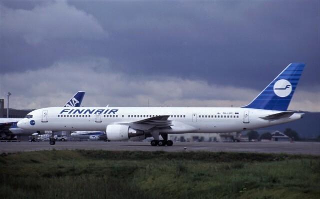 kumagorouさんが、仙台空港で撮影したフィンエアー 757-2Q8の航空フォト(飛行機 写真・画像)