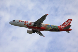 TAKAHIDEさんが、関西国際空港で撮影したフィリピン・エアアジア A320-216の航空フォト(飛行機 写真・画像)