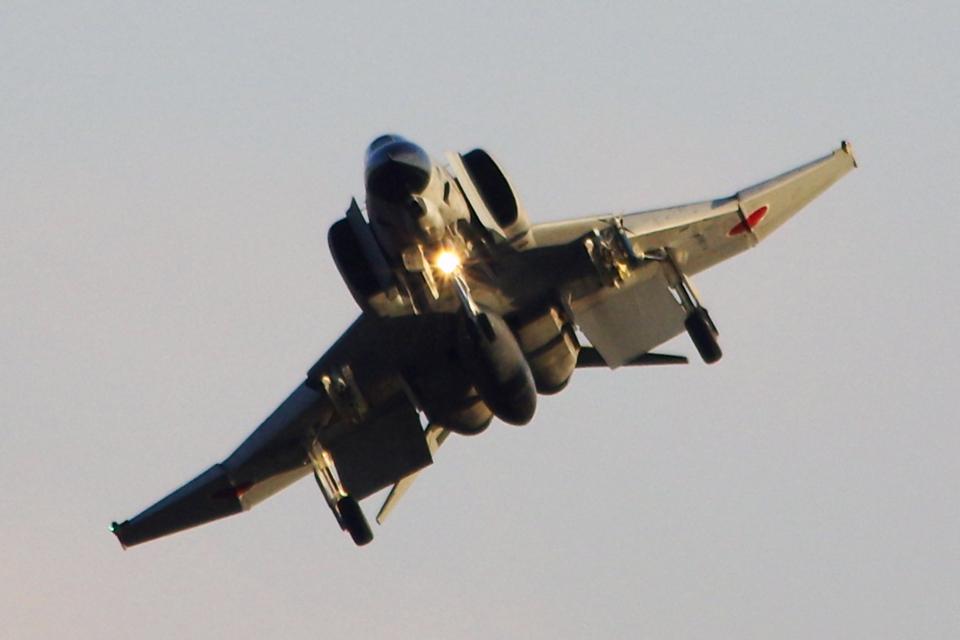 AWACSさんの航空自衛隊 Mitsubishi F-4EJ Kai Phantom II (97-8424) 航空フォト