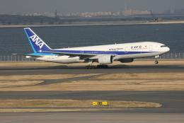 kahluamilkさんが、羽田空港で撮影した全日空 777-281の航空フォト(飛行機 写真・画像)