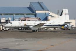 kahluamilkさんが、羽田空港で撮影した国土交通省 航空局 YS-11A-212の航空フォト(飛行機 写真・画像)