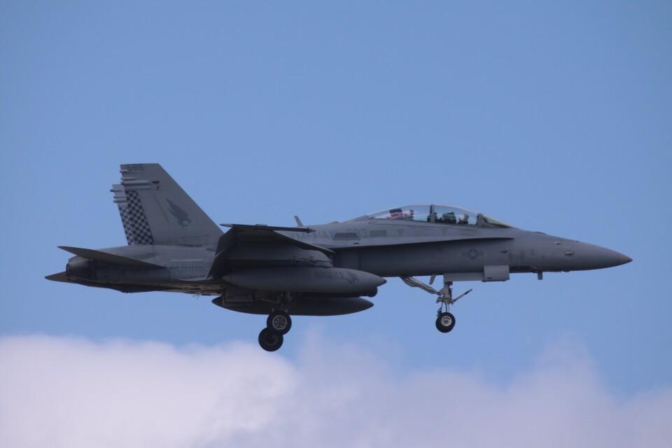 Mr.boneさんのアメリカ海兵隊 McDonnell Douglas F/A-18 Hornet (165686) 航空フォト