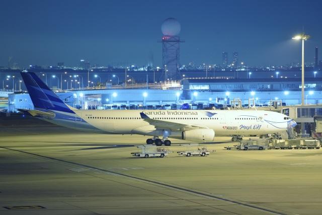 kurubouzuさんが、関西国際空港で撮影したガルーダ・インドネシア航空 A330-343Xの航空フォト(飛行機 写真・画像)