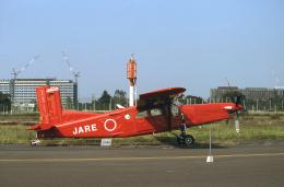 JAパイロットさんが、調布飛行場で撮影した国立極地研究所 PC-6/B2-H4 Turbo-Porterの航空フォト(飛行機 写真・画像)
