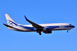 フリューゲルさんが、成田国際空港で撮影したアトラン・アヴィアトランス・カーゴ・エアラインズ 737-86N(BCF)の航空フォト(飛行機 写真・画像)