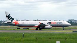 FlyingMonkeyさんが、シドニー国際空港で撮影したジェットスター A321-231の航空フォト(飛行機 写真・画像)