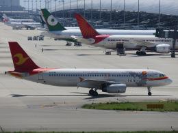 クロマティさんが、関西国際空港で撮影した天津航空 A320-232の航空フォト(飛行機 写真・画像)