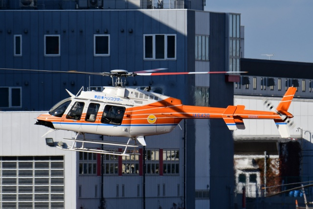Mizuki24さんが、東京ヘリポートで撮影したベルヘリコプター 407GXiの航空フォト(飛行機 写真・画像)