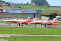 Tomo-Papaさんが、ミリテール・ド・ペイエルヌ飛行場で撮影したスイス空軍 F-5E Tiger IIの航空フォト(飛行機 写真・画像)