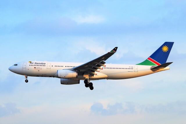 ちっとろむさんが、フランクフルト国際空港で撮影したナミビア航空 A330-243の航空フォト(飛行機 写真・画像)