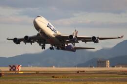 hanatomo735さんが、岩国空港で撮影したアトラス航空 747-446の航空フォト(飛行機 写真・画像)