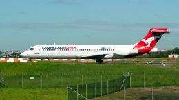 FlyingMonkeyさんが、シドニー国際空港で撮影したカンタスリンク 717-2BLの航空フォト(飛行機 写真・画像)