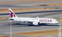 Asamaさんが、香港国際空港で撮影したカタール航空カーゴ 777-Fの航空フォト(飛行機 写真・画像)