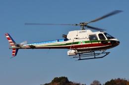 ブルーさんさんが、静岡ヘリポートで撮影したエクセル航空 AS350B2 Ecureuilの航空フォト(飛行機 写真・画像)