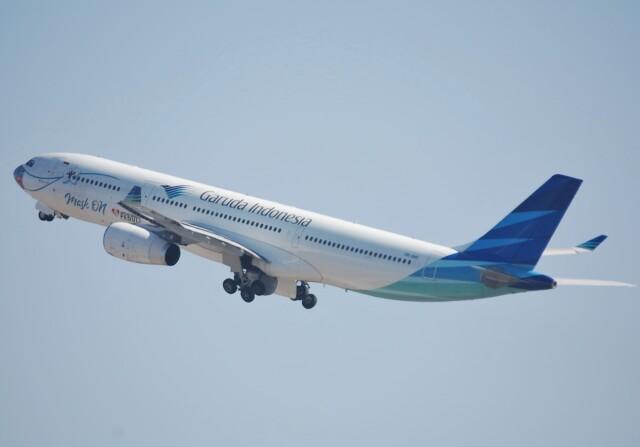 takikoki50000さんが、関西国際空港で撮影したガルーダ・インドネシア航空 A330-343Xの航空フォト(飛行機 写真・画像)