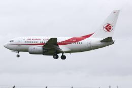 kinsanさんが、トゥールーズ・ブラニャック空港で撮影したアルジェリア航空 737-6D6の航空フォト(飛行機 写真・画像)