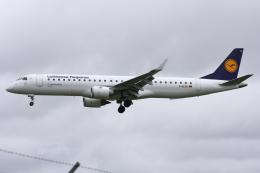 kinsanさんが、トゥールーズ・ブラニャック空港で撮影したルフトハンザ・シティライン ERJ-190-200 LR (ERJ-195LR)の航空フォト(飛行機 写真・画像)