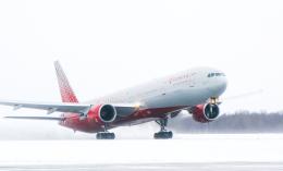 yuzhnospotterさんが、ホムトヴォ空港で撮影したロシア航空 777-312の航空フォト(飛行機 写真・画像)