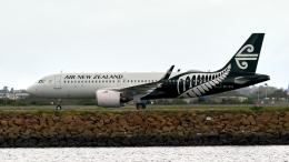 FlyingMonkeyさんが、シドニー国際空港で撮影したニュージーランド航空 A320-271Nの航空フォト(飛行機 写真・画像)