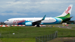 FlyingMonkeyさんが、シドニー国際空港で撮影したエア・バヌアツ 737-8SHの航空フォト(飛行機 写真・画像)