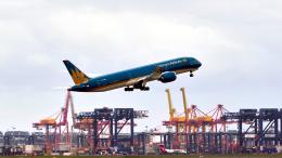 FlyingMonkeyさんが、シドニー国際空港で撮影したベトナム航空 787-9の航空フォト(飛行機 写真・画像)