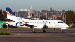 FlyingMonkeyさんが、シドニー国際空港で撮影したリージョナル・エクスプレス 340Bの航空フォト(飛行機 写真・画像)