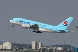 TAOTAOさんが、仁川国際空港で撮影した大韓航空 A380-861の航空フォト(飛行機 写真・画像)