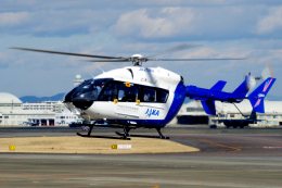 yabyanさんが、名古屋飛行場で撮影した宇宙航空研究開発機構 BK117C-2の航空フォト(飛行機 写真・画像)
