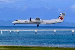 航空フォト:JA84RC 琉球エアーコミューター DHC-8-400