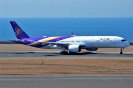 amagoさんが、中部国際空港で撮影したタイ国際航空 A350-941の航空フォト(飛行機 写真・画像)