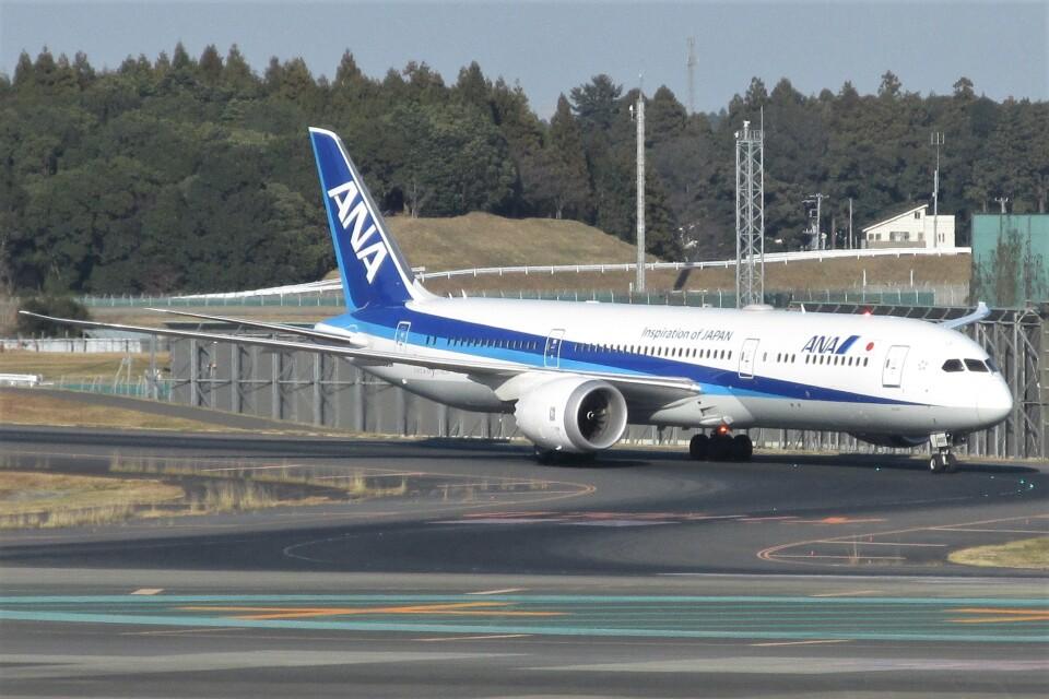 BOEING737MAX-8さんの全日空 Boeing 787-9 (JA880A) 航空フォト