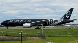 FlyingMonkeyさんが、シドニー国際空港で撮影したニュージーランド航空 777-219/ERの航空フォト(飛行機 写真・画像)