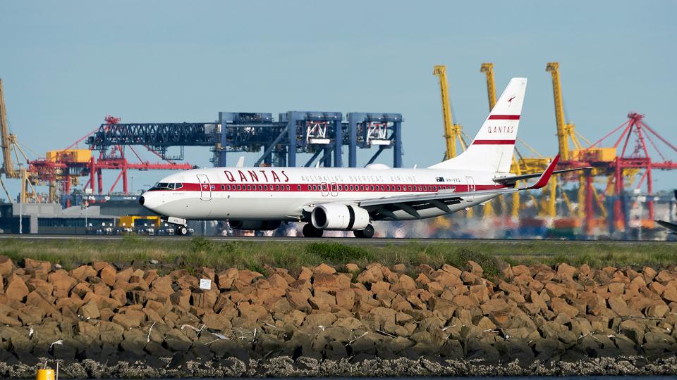 FlyingMonkeyさんのカンタス航空 Boeing 737-800 (VH-VXQ) 航空フォト
