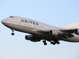 しまb747さんが、成田国際空港で撮影したユナイテッド航空 747-422の航空フォト(飛行機 写真・画像)