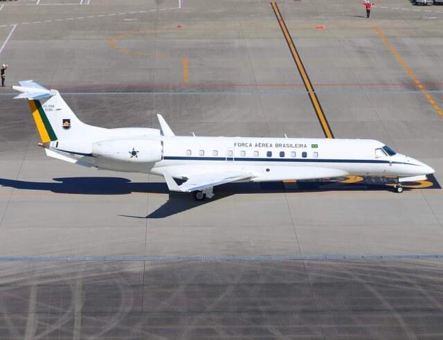 VICTER8929さんが、羽田空港で撮影したブラジル空軍 VC-99B (ERJ-135BJ)の航空フォト(飛行機 写真・画像)