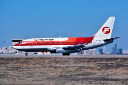 パール大山さんが、ハーツフィールド・ジャクソン・アトランタ国際空港で撮影したフロンティア航空 737-291/Advの航空フォト(飛行機 写真・画像)
