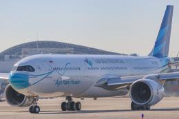 singapore346さんが、関西国際空港で撮影したガルーダ・インドネシア航空 A330-941の航空フォト(飛行機 写真・画像)