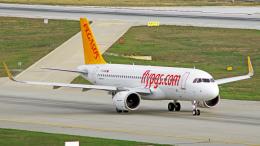 spottingvehicleさんが、サビハ・ギョクチェン国際空港で撮影したペガサス・エアラインズ A320-251Nの航空フォト(飛行機 写真・画像)