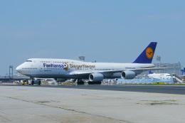 singapore346さんが、フランクフルト国際空港で撮影したルフトハンザドイツ航空 747-830の航空フォト(飛行機 写真・画像)