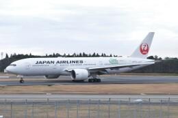 Flying A340さんが、成田国際空港で撮影した日本航空 777-246/ERの航空フォト(飛行機 写真・画像)