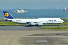 JJ✈さんが、羽田空港で撮影したルフトハンザドイツ航空 747-830の航空フォト(飛行機 写真・画像)
