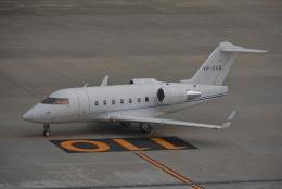 あまるめさんが、羽田空港で撮影したジェット・アビエーション・ビジネス・ジェット Challenger 600の航空フォト(飛行機 写真・画像)