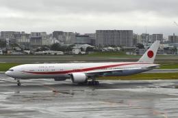 とりぷるせぶん/大和路鐵さんが、伊丹空港で撮影した航空自衛隊 777-3SB/ERの航空フォト(飛行機 写真・画像)