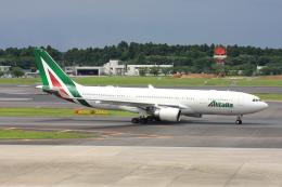 wunalaさんが、成田国際空港で撮影したアリタリア航空 A330-202の航空フォト(飛行機 写真・画像)
