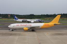 wunalaさんが、成田国際空港で撮影したエアー・ホンコン A300F4-605Rの航空フォト(飛行機 写真・画像)