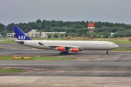 wunalaさんが、成田国際空港で撮影したスカンジナビア航空 A340-313Xの航空フォト(飛行機 写真・画像)