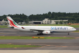 wunalaさんが、成田国際空港で撮影したスリランカ航空 A330-343Eの航空フォト(飛行機 写真・画像)