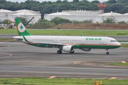 wunalaさんが、成田国際空港で撮影したエバー航空 A321-211の航空フォト(飛行機 写真・画像)