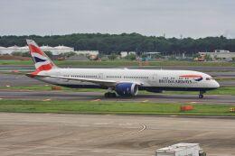 wunalaさんが、成田国際空港で撮影したブリティッシュ・エアウェイズ 787-9の航空フォト(飛行機 写真・画像)